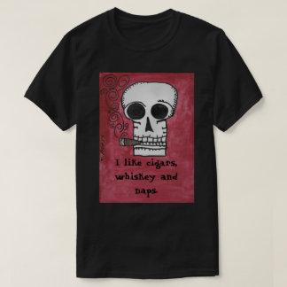 I like cigars, whiskey and naps T-Shirt