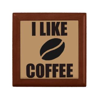 I like coffee keepsake box