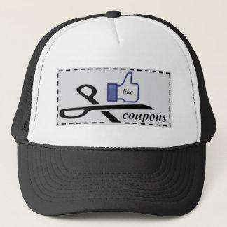 I LIKE COUPONS TRUCKER HAT