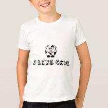 I Like Cows Kids T-Shirt