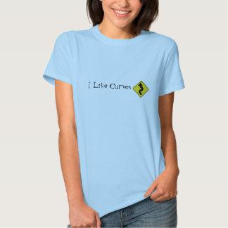 I Like Curves Tee Shirt