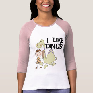 I Like Dinos - Boy Tshirts and Gifts