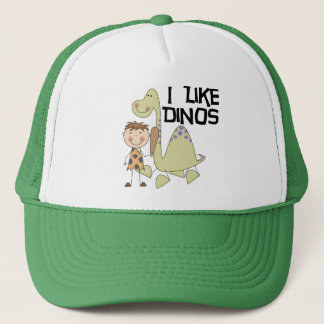I Like Dinos - Boy Tshirts and Gifts Trucker Hat