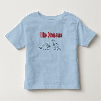 I like dinosaurs kids t-shirt