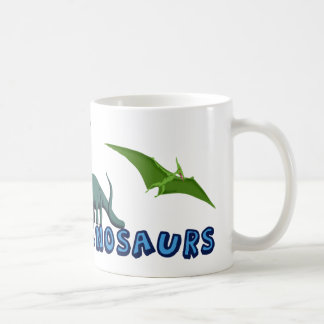 I Like Dinosaurs Classic White Coffee Mug