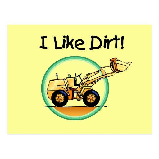 I Like Dirt T-shirts and Gifts Postcard