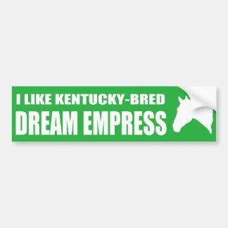 I Like Dream Empress Bumper Sticker