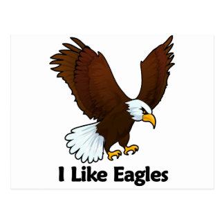 I Like Eagles Postcard