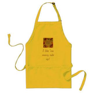 I like 'em sunny side up! adult apron