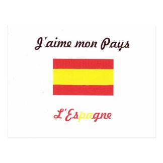 I like Espagne.jpg Post Card