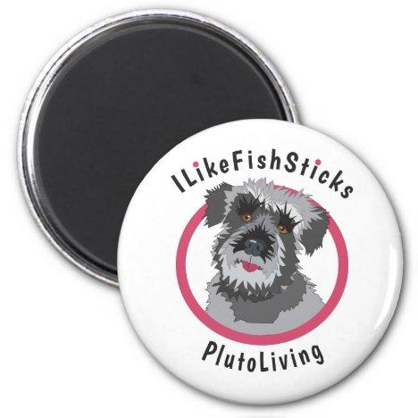 I Like Fish Sticks Magnet