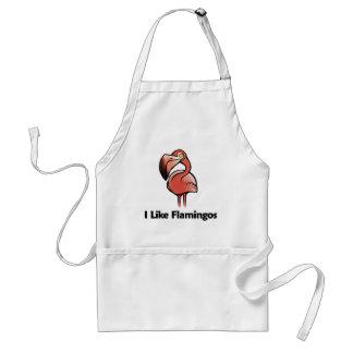 I Like Flamingos Adult Apron