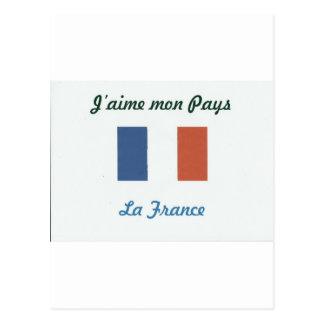 I like France.jpg Post Card