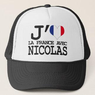 I like France with Nicolas Trucker Hat