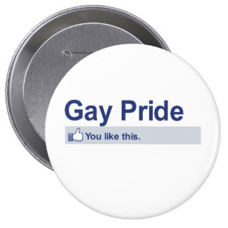 I Like Gay Pride Buttons