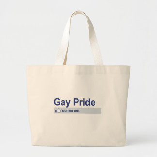 I Like Gay Pride Canvas Bags