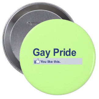 I Like Gay Pride Pins