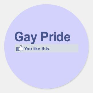 I Like Gay Pride Sticker
