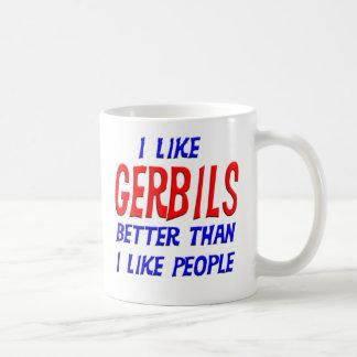 I Like Gerbils Better Than I Like People Mug