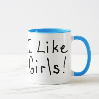 I Like Girls Mug