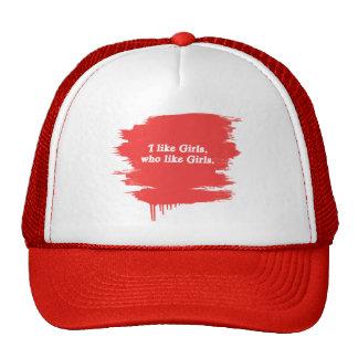 I like girls who like girls trucker hat