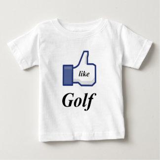 I LIKE GOLF BABY T-Shirt