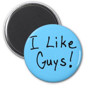 I Like Guys Magnet