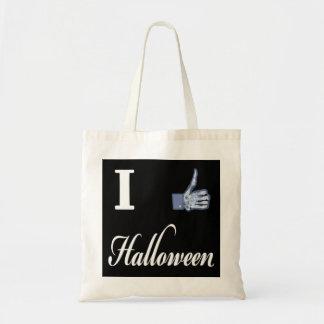 I LIKE Halloween Tote Bag
