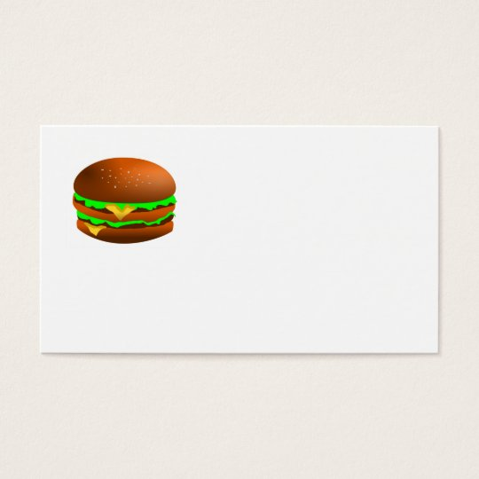 I like hamburgers business card