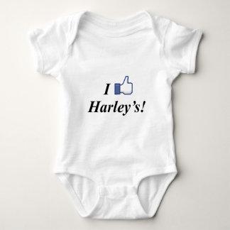 I LIKE HARLEY'S! BABY BODYSUIT