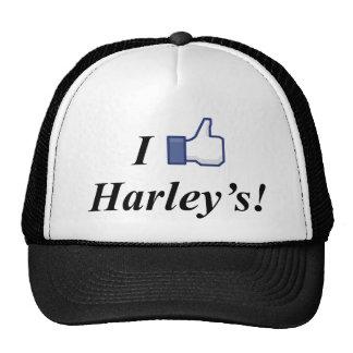 I LIKE HARLEY'S! TRUCKER HAT