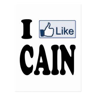 I Like Herman Cain For President 2012 Postcard