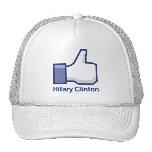 I LIKE HILLARY CLINTON.png Trucker Hat