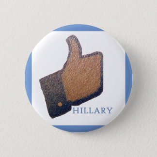 "I LIKE HILLARY ""Customize It!"" Pinback Button"