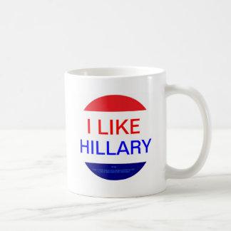 I LIKE HILLARY (MULTIPLE PRODUCTS) COFFEE MUG