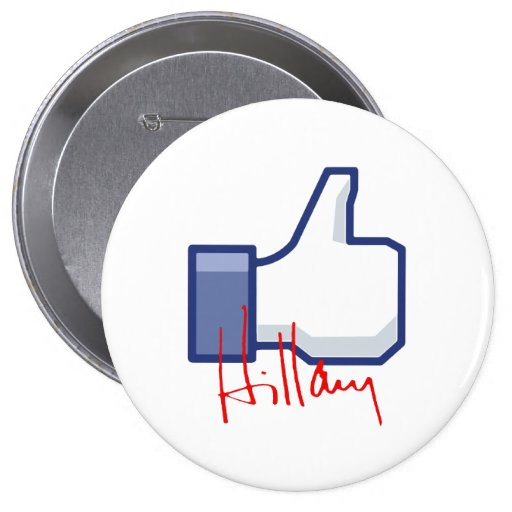 I LIKE HILLARY -.png Button