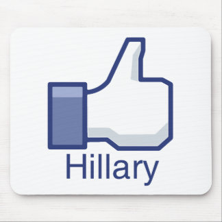 I LIKE HILLARY.png Mouse Pad