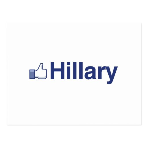 I LIKE HILLARY-.png Post Cards
