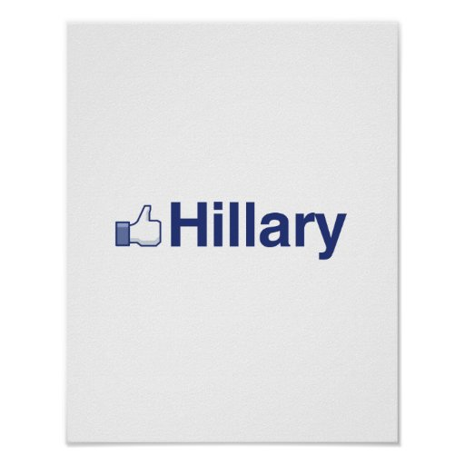I LIKE HILLARY-.png Poster