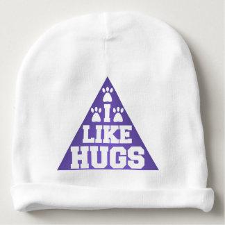 I like hugs baby beanie