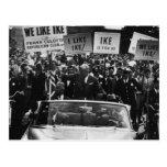 I Like Ike Dwight D. Eisenhower Campaign Postcard