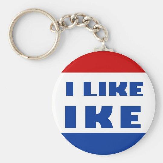 I Like Ike Keychain