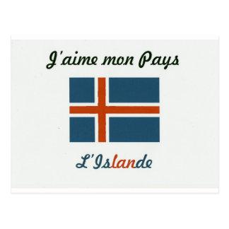 I like Islande.jpg Postcard