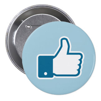 I like it! 3 inch round button