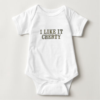 I Like It Cherty Baby Bodysuit