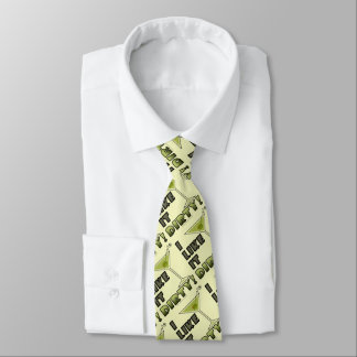 I LIKE IT DIRTY! Dirty Martini Cocktail Humor Tie