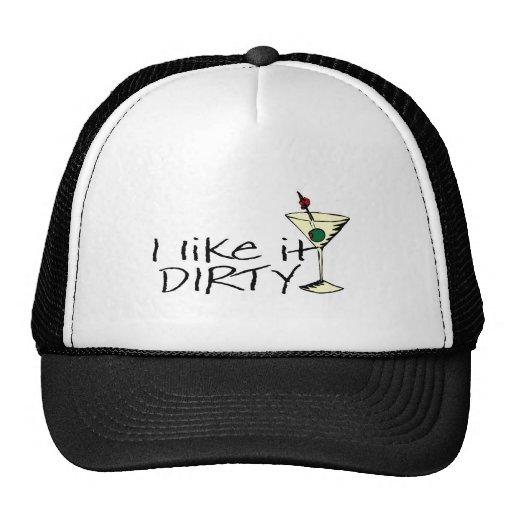 I Like It Dirty Martini Trucker Hat