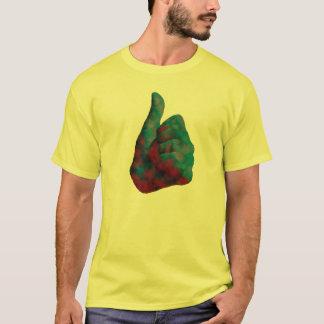 I like it. One thumb up. T-Shirt
