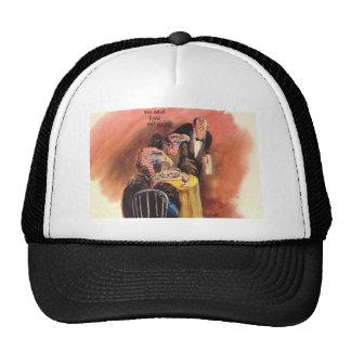 I like it raw! trucker hat