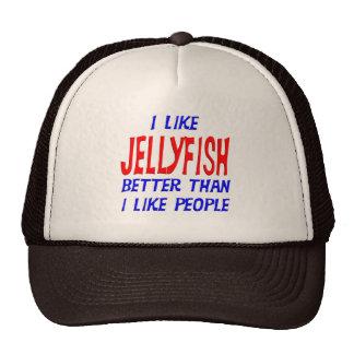 I Like Jellyfish Better Than I Like People Hat